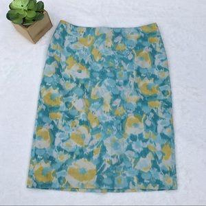 Talbots 4 Pencil Skirt